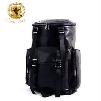 NEW STAR 韓風皮紋多口袋電腦包公事包後背包 BK185
