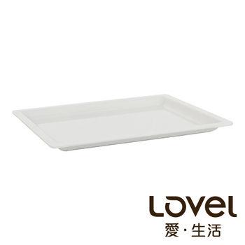 LOVEL 象牙瓷白buffet餐盤(GN1/2 20mm)
