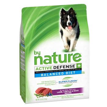 【by Nature】大自然 均衡飲食天然狗糧 羊肉 + 鴨+蔬果 3.8磅 X 1入