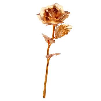 不凋花 人造金玫瑰花禮盒 母親節/情人節
