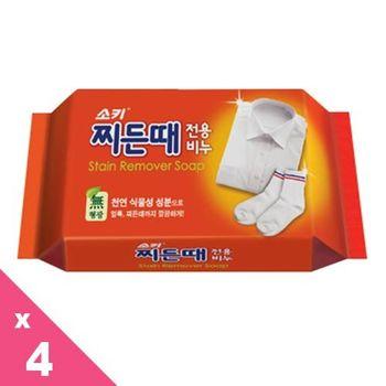 韓國進口 MKH 無瓊花衣襪強力去污皂(150G)x4