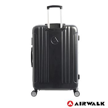 AIRWALK LUGGAGE - 品牌系列  碳纖直紋28吋行李箱 - 洗鍊黑