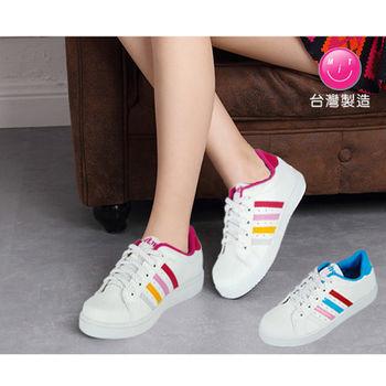 【HANG TEN】街頭風止滑休閒運動鞋(F009L)