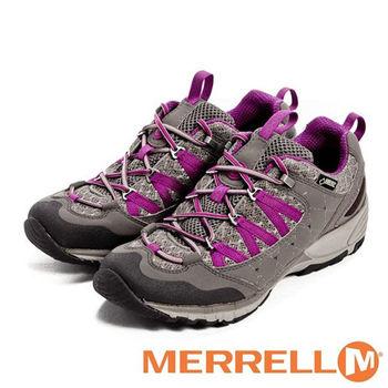 MERRELL 防水透氣多功能運動女鞋AVIAN LIGHT系列-褐灰