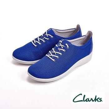 【Clarks】輕量級 極輕便透氣運動鞋 女鞋-藍(另有桃)