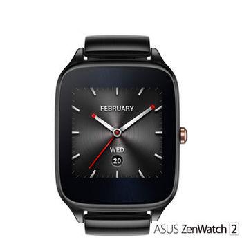 華碩ASUS ZenWatch 2 (大錶22mm) 快充進化版 金屬紳士黑