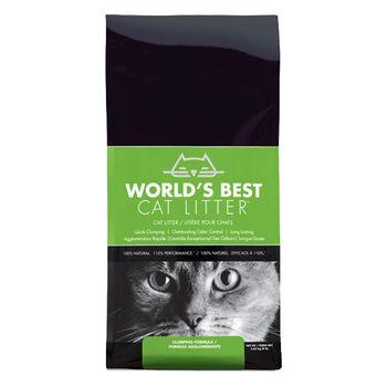 【World's Best Cat Litter】世嘉 原味清香 強效凝結玉米砂 14磅 X 1入