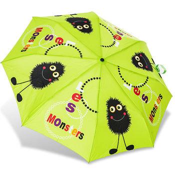 rainstory雨傘-小毛怪(綠)抗UV個人自動傘