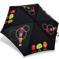 rainstory雨傘 ^#45 小毛怪 ^#40 黑 ^#41 抗UV輕細口紅傘