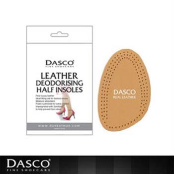 【鞋之潔】英國伯爵DASCO 6016前掌舒適真皮鞋墊 不塗覆化學成份 actifresh可消除產生惡臭之細菌