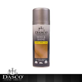 【鞋之潔】英國伯爵DASCO 4011皮革亮光噴劑 快速吸收產生耀眼光澤 贈超細纖維拋光布