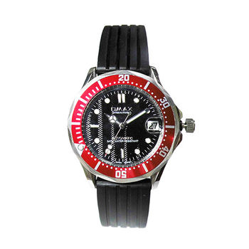 【OMAX】霸氣水波紋自動上鍊機芯腕錶