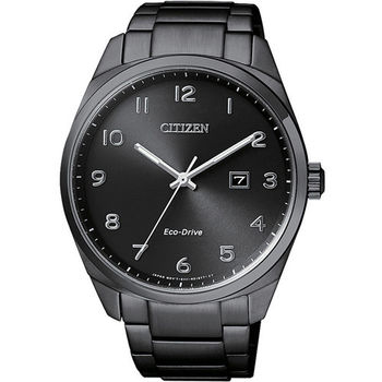 CITIZEN 星辰 時尚生活簡約大三針光動能男用腕錶/42mm/BM7325-83E