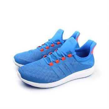 adidas cc sonic m 跑鞋 桔藍 男款 no288
