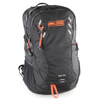 犀牛XLite 25公升登山背包-螢光橘