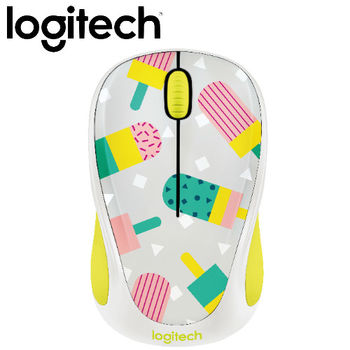 【Logitech】Party Collection M238 無線滑鼠 甜心冰棒