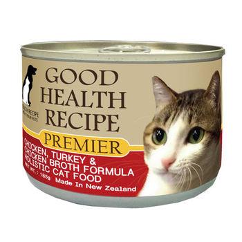 【PREMIER】健康主義 GHR貓用雞肉蔓越莓配方主食 貓罐 175G x 24入