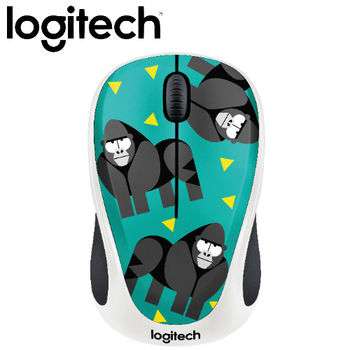 【Logitech】Party Collection M238 無線滑鼠 猩猩