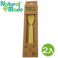 ~Natural Made~ 環保玉米餐具 ^#45 湯匙2入組 14x3x2cm