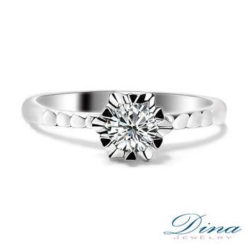 DINA JEWELRY 蒂娜珠寶 GIA 0.30克拉D SI1 3EX 鑽戒 求婚戒指