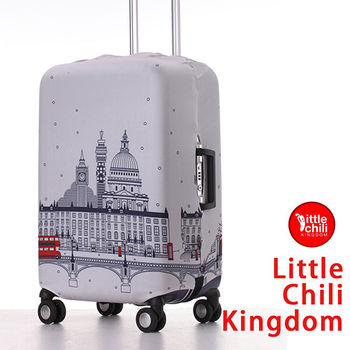 LittleChili行李箱套520-倫敦白 M