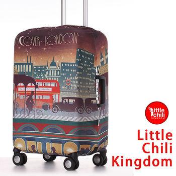 LittleChili行李箱套532-倫敦彩 L