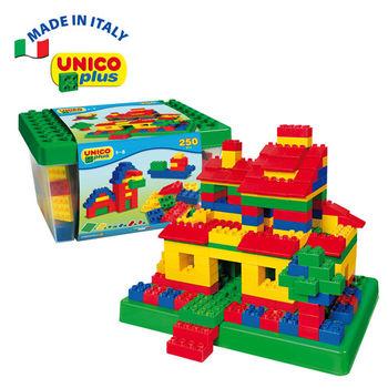 【義大利Unico】益智系列-趣味積木組250pcs