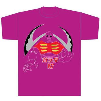 heroesunited 正版授權 鐮刀怪 桃紅T恤 純棉100% 無敵鐵金鋼 Mazinger Z 短袖 圓領