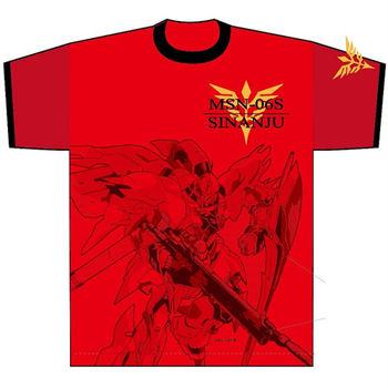 heroesunited 鋼彈 Gundam MSN-06S 新安洲 100%純棉 短T