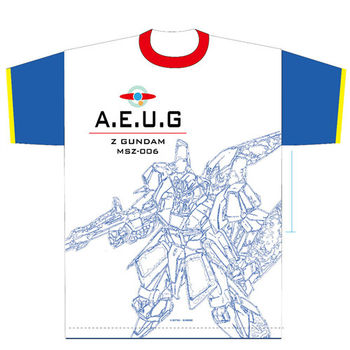 heroesunited 鋼彈 MSZ-006 Zeta Gundam 100%純棉 短T 白T