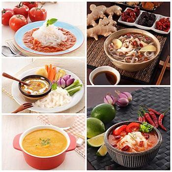 《呷七碗》饗SO美味蒟蒻麵-義式蕃茄*3+泰式酸辣*3(共六包)