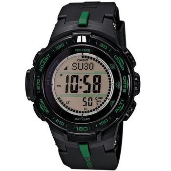 CASIO 卡西歐 PROTREK 太陽能電波登山腕錶47mm/PRW-S3100-1