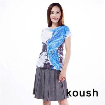 【kuosh】美國經典加大尺碼圖騰上衣(NS-6172)