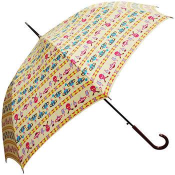 rainstory雨傘-塗鴉行星抗UV自動開直骨傘