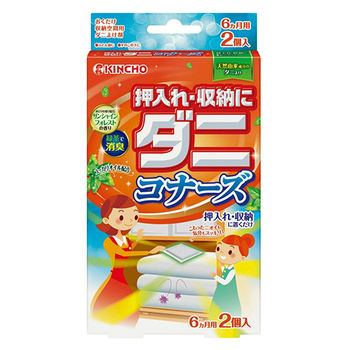 【日本金鳥】KINCHO衣櫥收納用驅螨消臭片
