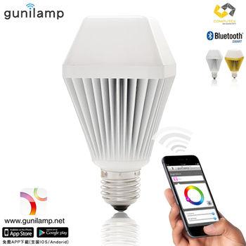 《gunilamp》手機APP控制亮度色彩 LED 7W燈炮*1入(二色可選)