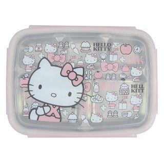 Hello Kitty不鏽鋼隔熱餐盒大臉 KS-8155