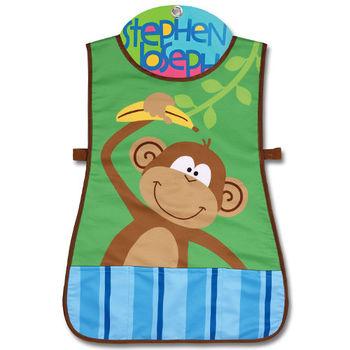 【Stephen Joseph】童趣造型防水圍裙-叢林動物園