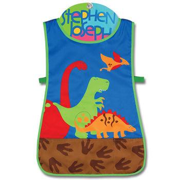 【Stephen Joseph】童趣造型防水圍裙-恐龍世界