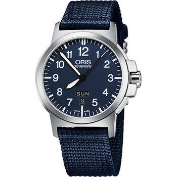 Oris BC3 Advanced 日曆星期機械腕錶-藍/42mm 73576414165-0752226