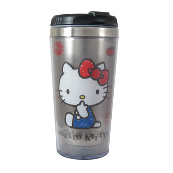 Hello Kitty不鏽鋼隨行杯 400ml KS-8218W