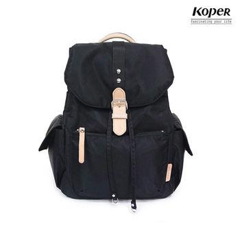 【KOPER】輕甜焦糖系列-經典Lovely後背包-時尚黑