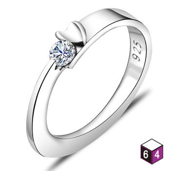 ART64 戒指 相依 純銀戒指