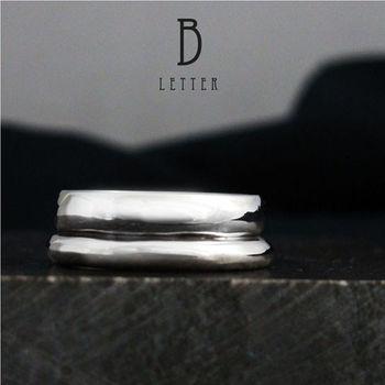 ART64 訂製戒指-造型戒 B-Ring 純銀戒指