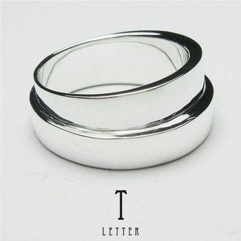 ART64 訂製戒指-造型戒 T-Ring 純銀戒指