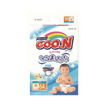 日本大王 《GOO.N》 紙尿褲境內版 (新生兒/ S / M / L / XL)-4包1箱 箱購