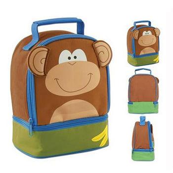 【Stephen Joseph】童趣造型保溫餐袋-猴子