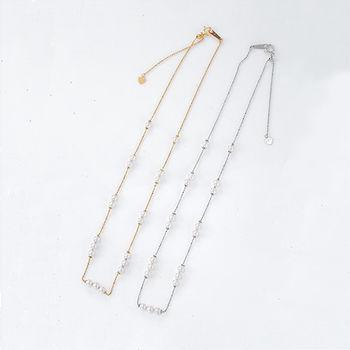 Artsda 獨家東京 海水珍珠幸福項鍊(18K白金,18K黃金)