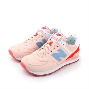 NEW BALANCE 574系列 休閒鞋 桔 女款 no005 楦頭(窄)