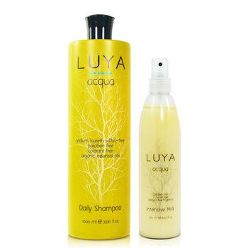 LUYA  Daily Shampoo 每日養護洗髮精(1000ml)-送免沖彈力蛋白奶&紙袋